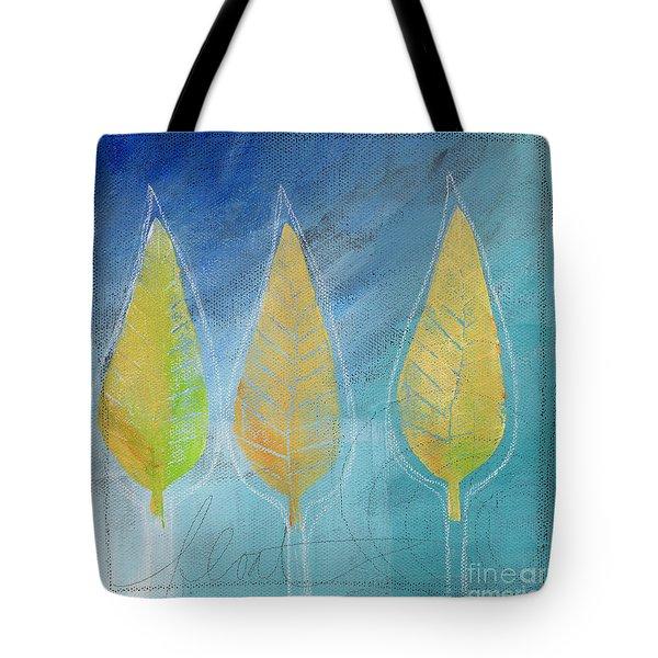 Floating Tote Bag by Linda Woods