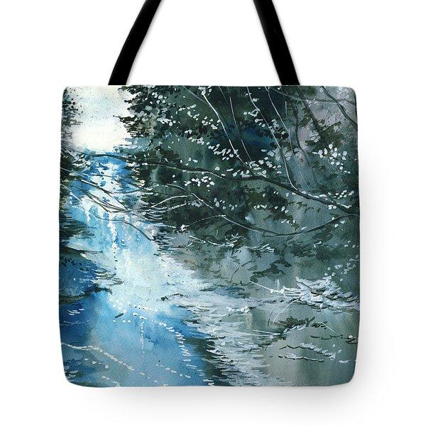 Floods 3 Tote Bag by Anil Nene