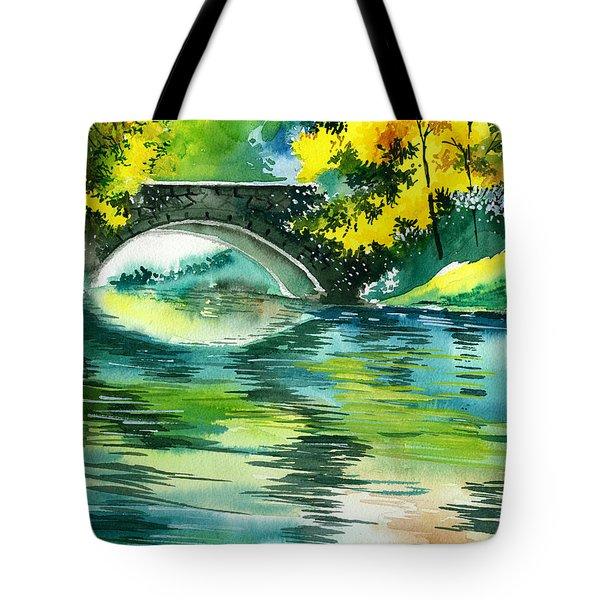 Floods R Tote Bag by Anil Nene