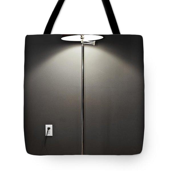 Floor lamp Tote Bag by Elena Elisseeva
