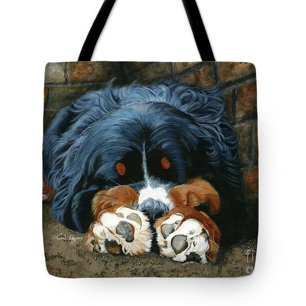 Flop Those Lips Fast Asleep Extra Ventilation Tote Bag by Liane Weyers