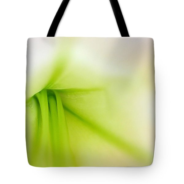 Floral Abstract Tote Bag by Juergen Roth