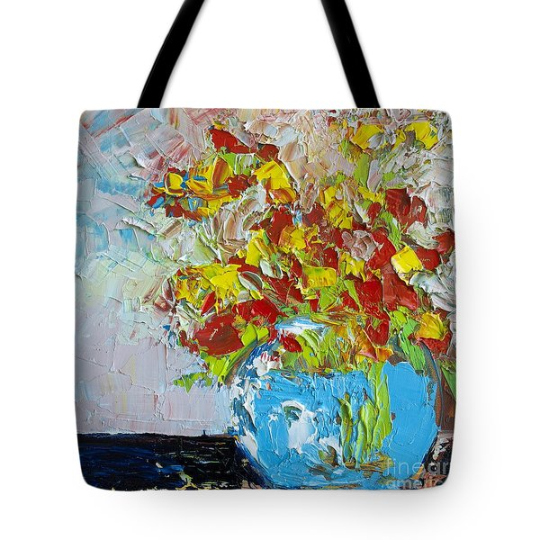 FLORAL ABSTRACT Tote Bag by Patricia Awapara