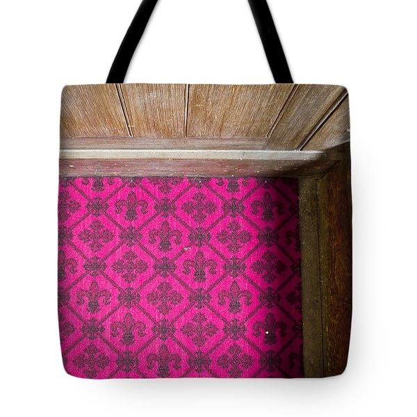 Floral Carpet Tote Bag by Tom Gowanlock