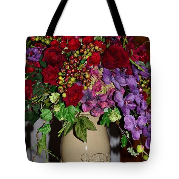 Floral Decor Tote Bag by Kathleen Struckle