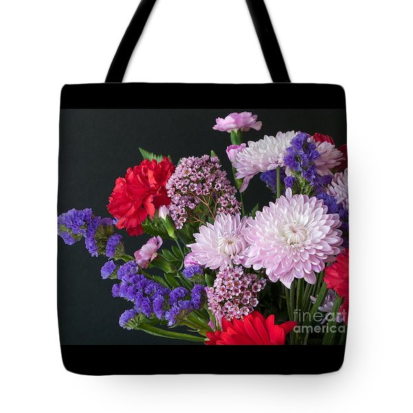 Floral Mix Tote Bag by Ann Horn