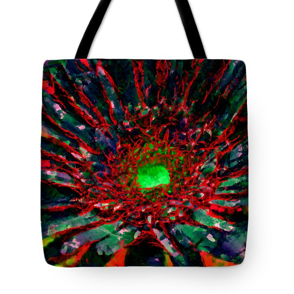 Floral Revolution 1 Tote Bag by Angelina Vick