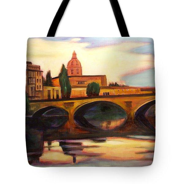 Florence Tote Bag by Sheila Diemert