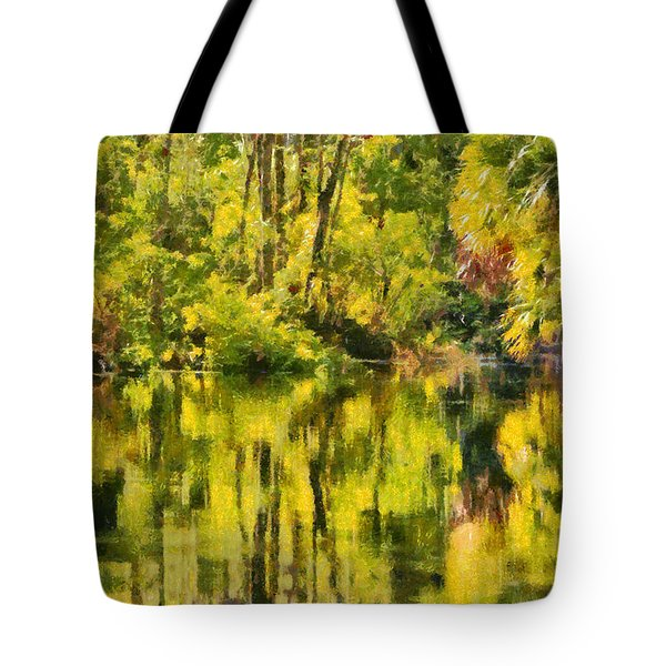 Florida Jungle Tote Bag by Christine Till
