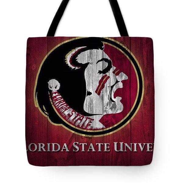 Florida State University Barn Door Tote Bag by Dan Sproul