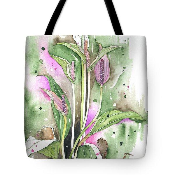 Flower Anthurium 03 Elena Yakubovich Tote Bag by Elena Yakubovich