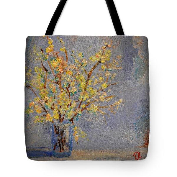 Flower Arrangement Exotic  Tote Bag by Patricia Awapara