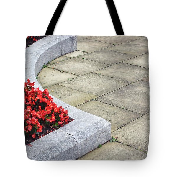 Flower Bed Tote Bag by Tom Gowanlock