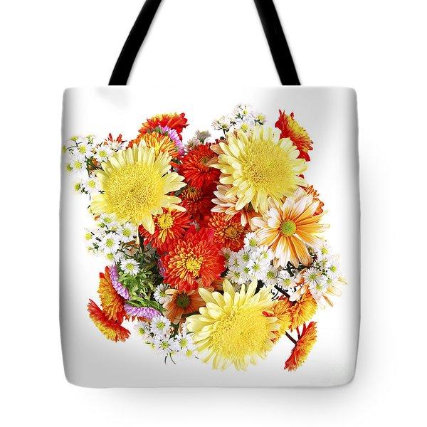 Flower bouquet Tote Bag by Elena Elisseeva