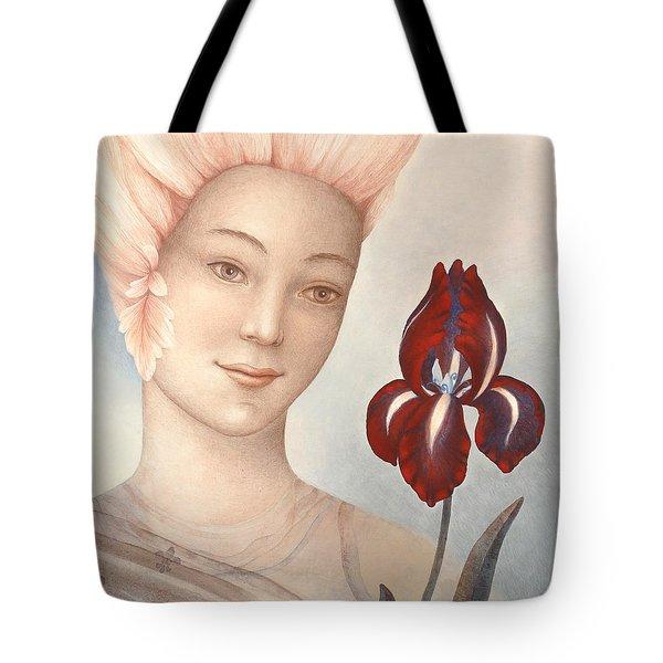 Flower Fairy Tote Bag by Judith Grzimek