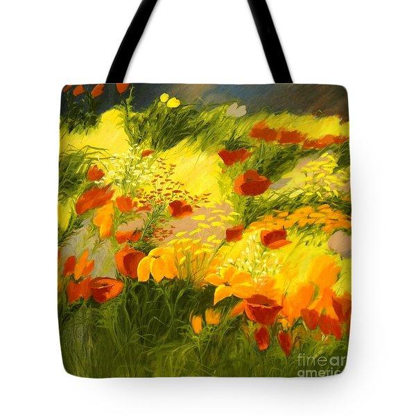 Flower Fantasy Tote Bag by Madeleine Holzberg