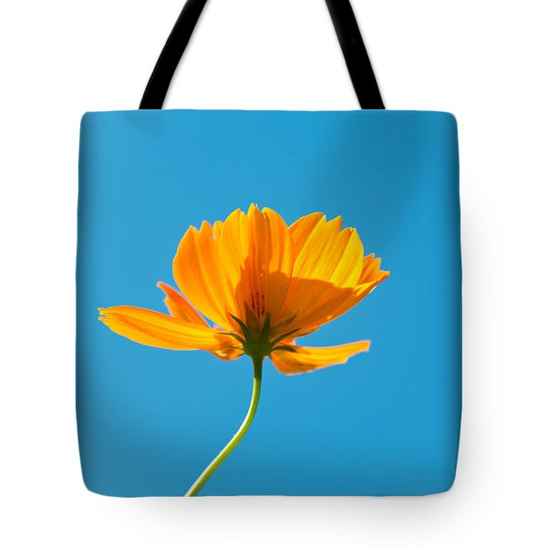 Flower - Growing up in Brooklyn Tote Bag by Mike Savad