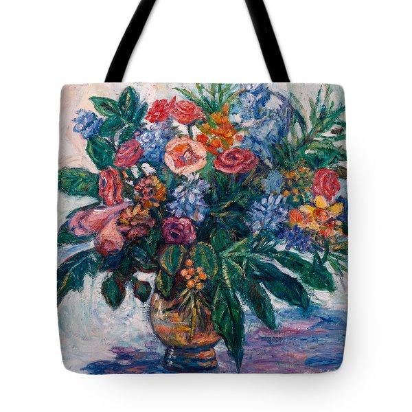 Flower Life Tote Bag by Kendall Kessler