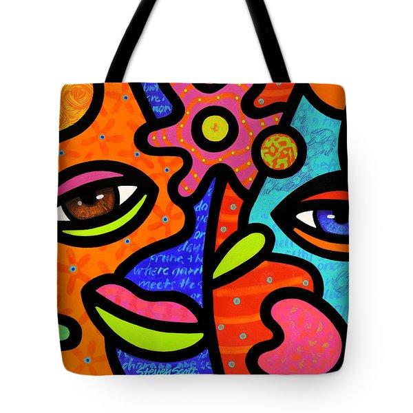 Flower Market Tote Bag by Steven Scott