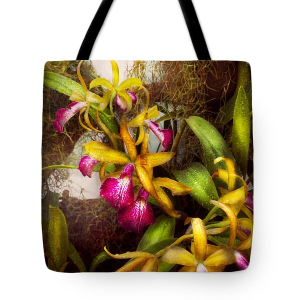Flower - Orchid - Cattleya - There's Something About Orchids  Tote Bag by Mike Savad