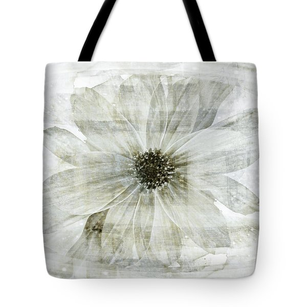 Flower Reflection Tote Bag by Frank Tschakert