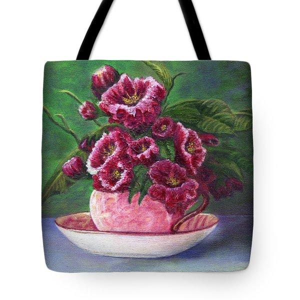Flower Song  Tote Bag by Catherine Howard