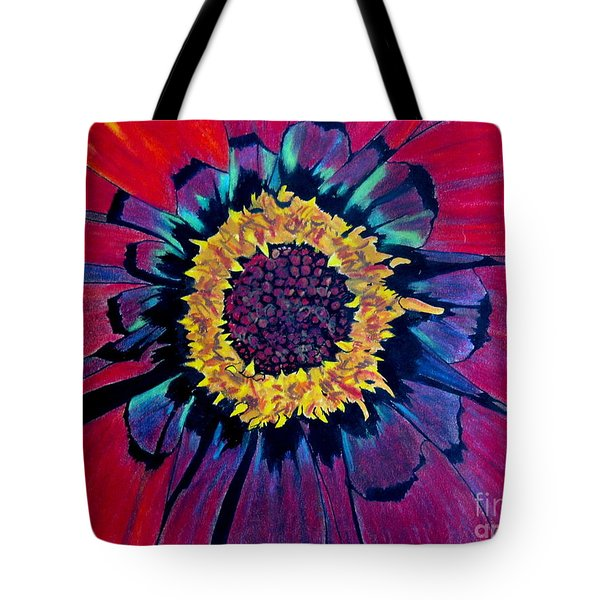 Flowerburst Tote Bag by Rory Sagner