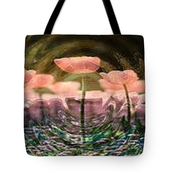 Flowers In Heat Tote Bag by PainterArtist FIN