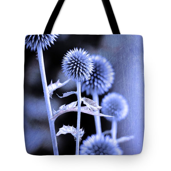 Flowers In The Metal Tote Bag by Toppart Sweden