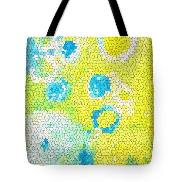 Flowers V Tote Bag by Patricia Awapara
