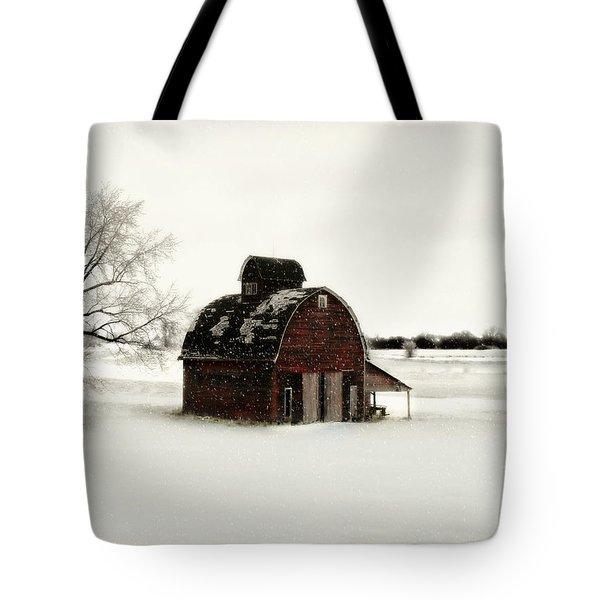 Flurry Tote Bag by Julie Hamilton