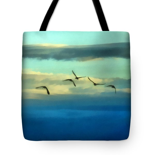 Fly Away Tote Bag by Ernie Echols