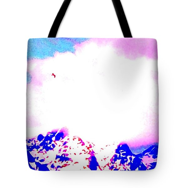 Fly like a bird Tote Bag by Hilde Widerberg