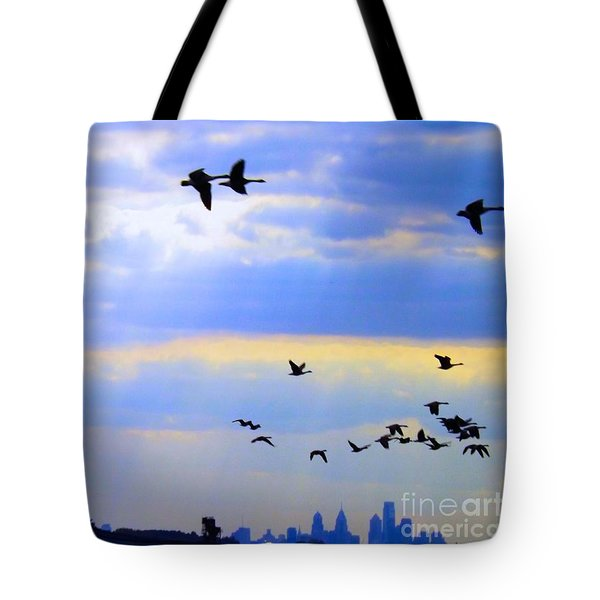 Fly Like The Wind Tote Bag by Robyn King