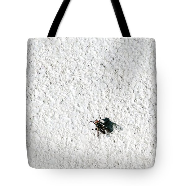 Fly On A Wall Tote Bag by Alexander Senin