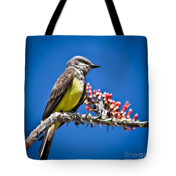 Flycatcher Tote Bag by Robert Bales