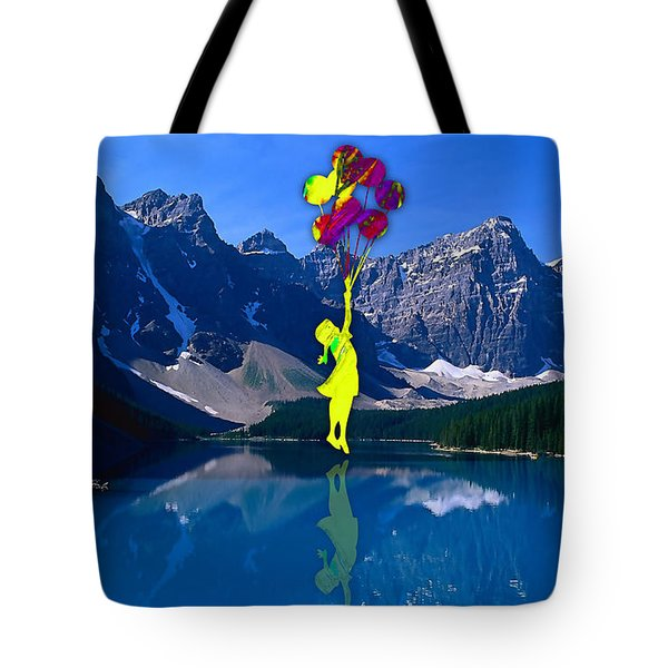 Flying In My Dream Tote Bag by Marvin Blaine
