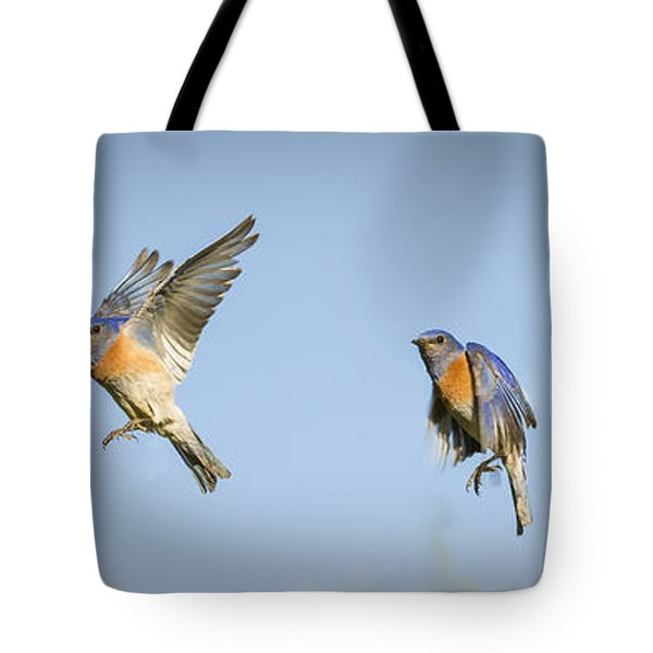 Flying Tote Bag by Jean Noren