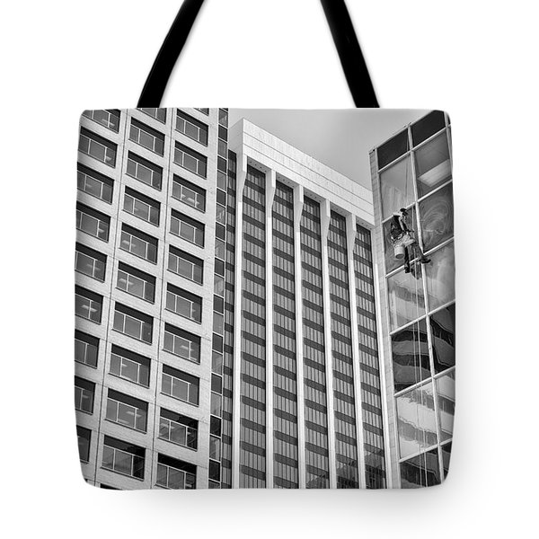 Flying Solo Tote Bag by Trever Miller