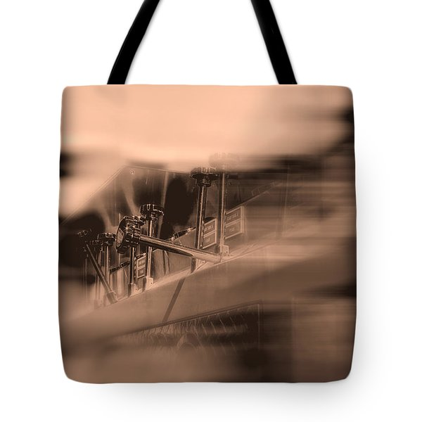 Foam Tank A Fire Engine Number Four Tote Bag by Bob Orsillo