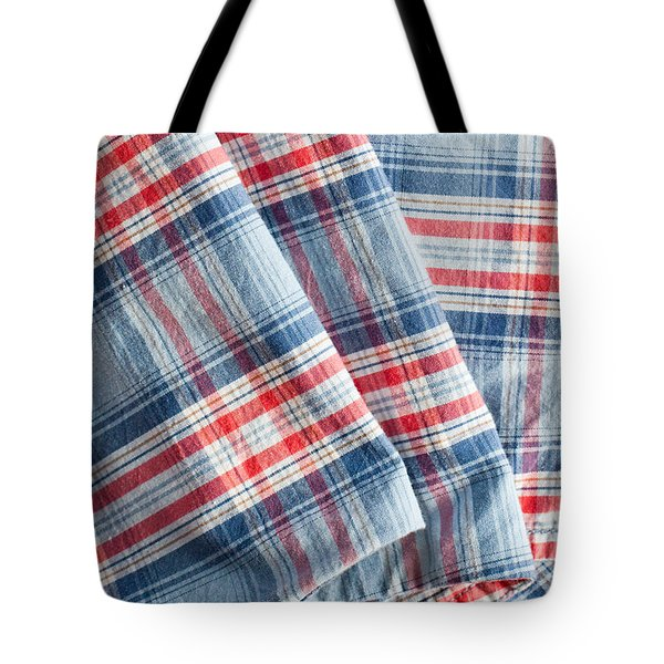 Folded Fabric Tote Bag by Tom Gowanlock