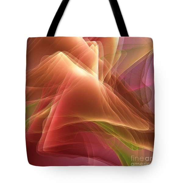 Folding Echoes   Tote Bag by Elizabeth McTaggart