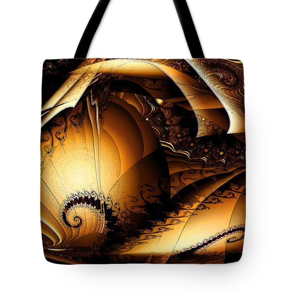 Folds In Time Tote Bag by Peter R Nicholls