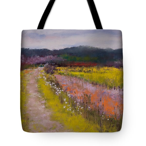 Follow The Daisies Tote Bag by David Patterson