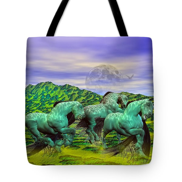 Follow the Yellow Brick Road Tote Bag by Betsy A  Cutler