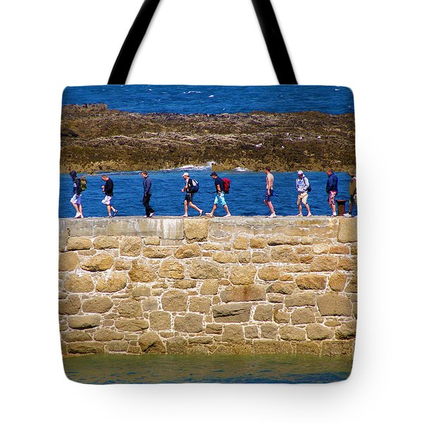 Follow the Yellow Brick Road Tote Bag by Terri  Waters