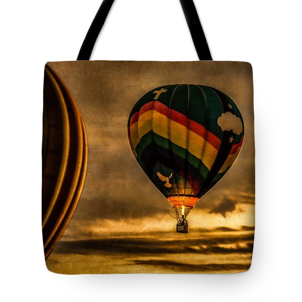 Following Amazing Grace Tote Bag by Bob Orsillo