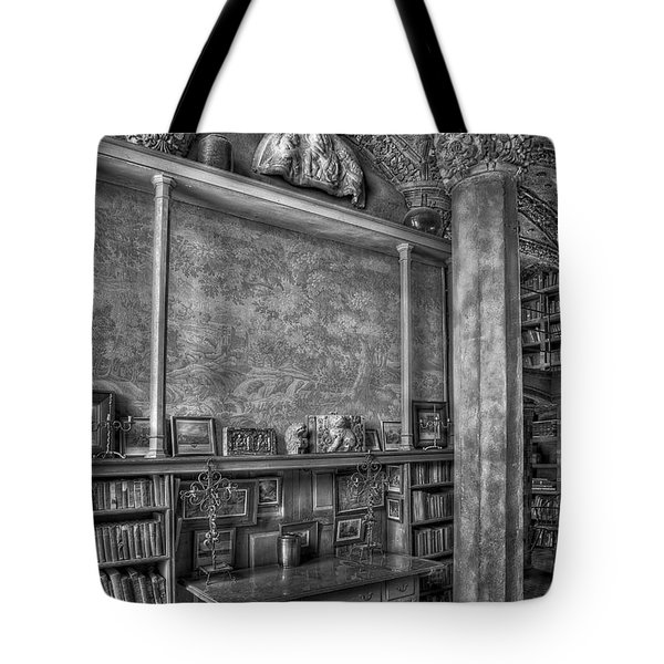Fonthill Castle Library Tote Bag by Susan Candelario