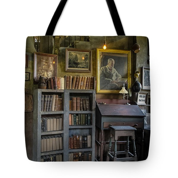 Fonthill Castle Saloon Tote Bag by Susan Candelario