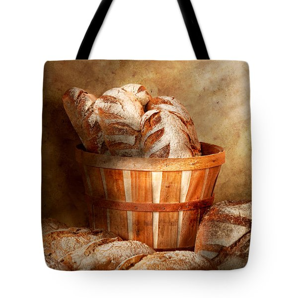 Food - Bread - Your daily bread Tote Bag by Mike Savad